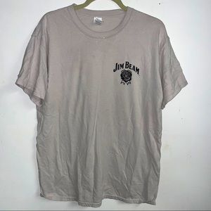 Jim Beam firefighters t-shirt large